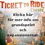 Ticket to Ride grundspel och expansioner