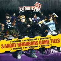 Zombicide: Tile Pack - 3 Angry Neighbors Game Tiles