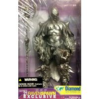 Raven Spawn tennfigur + Book of the Dead – McFarlane Toys