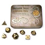 Blackfire Metal Dragon Dice