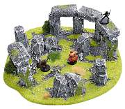 Stonehenge terrain for miniatures
